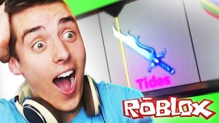 Roblox Adventures / Murder Mystery / I GOT A GODLY!! / Godly Knife Case Unboxing