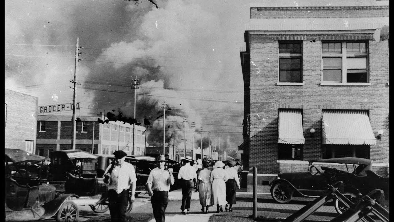 The Tulsa Race Massacre; Then and now.