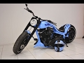 Custom muscle motorcycles by Marcus Walz
