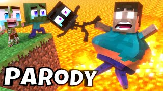 Monster School : RIP ALL BABY Monsters - Funny Minecraft Animation