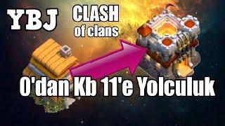 0'dan Kb 11'e Yolculuk #20 -ÖZLEMİŞİM- Clash Of Clans