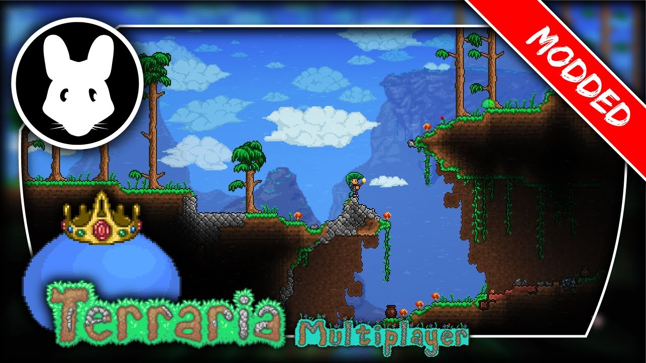 Modded Terraria Multiplayer! Day 11 with RoraxPlays