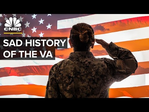The Sad History Of The U.S. Department Of Veterans Affairs | CNBC