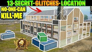 How CONQUEROR Players Plays in MYLTA POWER 13 Secret Glitches and Location Tips Tricks PUBG MOBILE