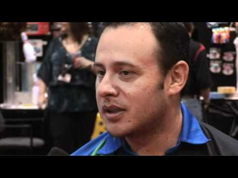 2012 Xtra Frame Extras @ Bowl Expo - Andres Gomez Interview