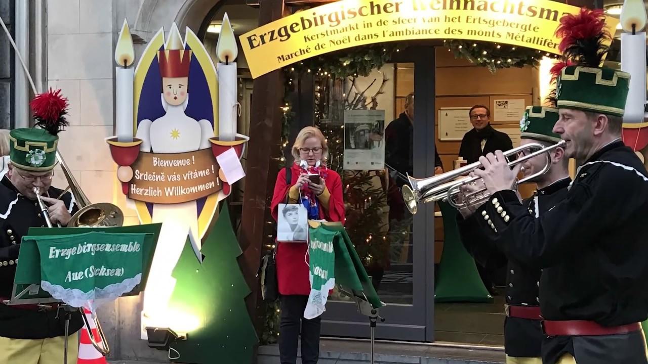 Weihnachtsmarkt L.Erzgebirgischer Weihnachtsmarkt In Brüssel 2018