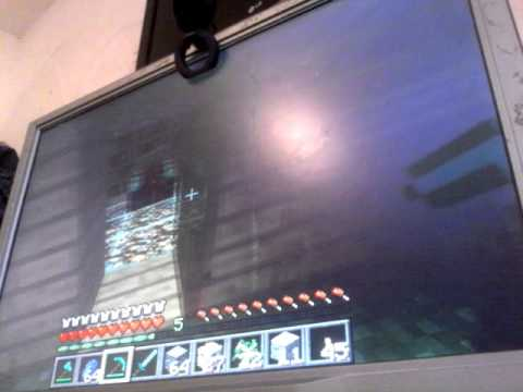 Minecraft pc edishon with my dad youtube for Hide n seek living room edition