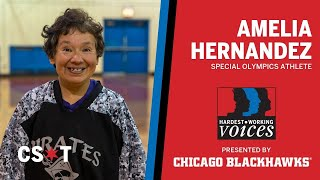 51 years of competition are not slowing down this Special Olympics athlete