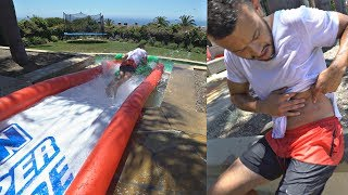 INSANE SLIP N SLIDE *BAD IDEA*