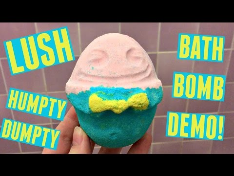 Humpty Dumpty Bath Bomb | LUSH DEMO