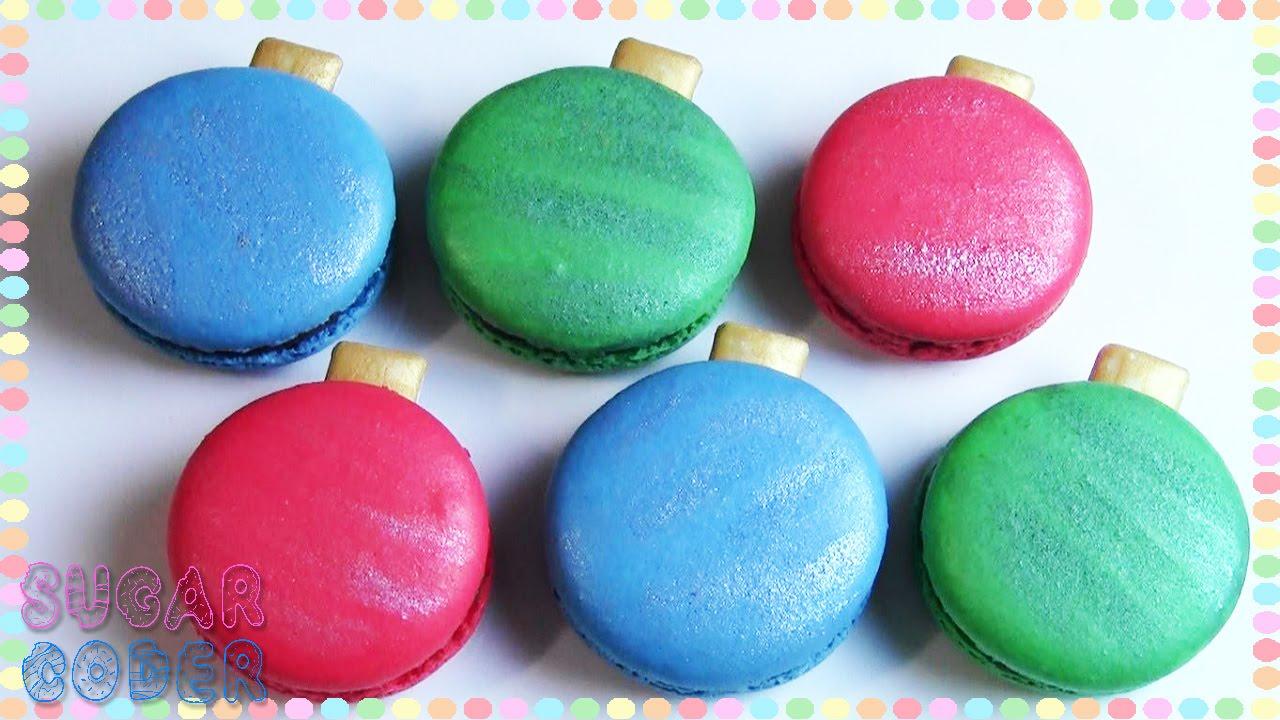 Macaron Christmas Ornament