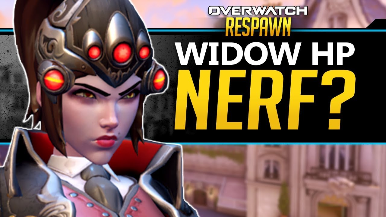 Overwatch Respawn #67 - Winston Right Click Ability, Widow