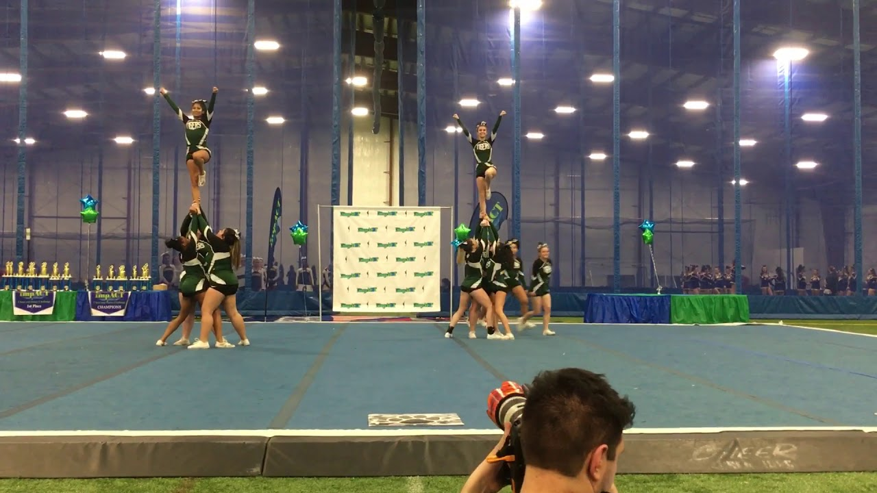 South Plainfield Competition Cheerleaders 2 11 2018 Manalapan - YouTube 7504717ad