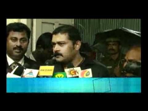 Akash Gave a complaint to the Commissioner-Dinamalar - YouTube