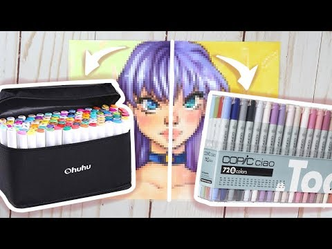 Ohuhu Markers Vs Copic Markers | Marker Review