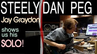 Steely Dan - Peg | Jay Graydon Shows Us The Solo | Tim Pierce | Learn To Play | Guitar Lesson