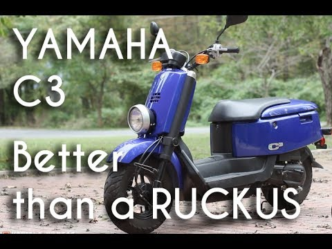 Yamaha c3 review: The best 50cc scooter you can possibly buy