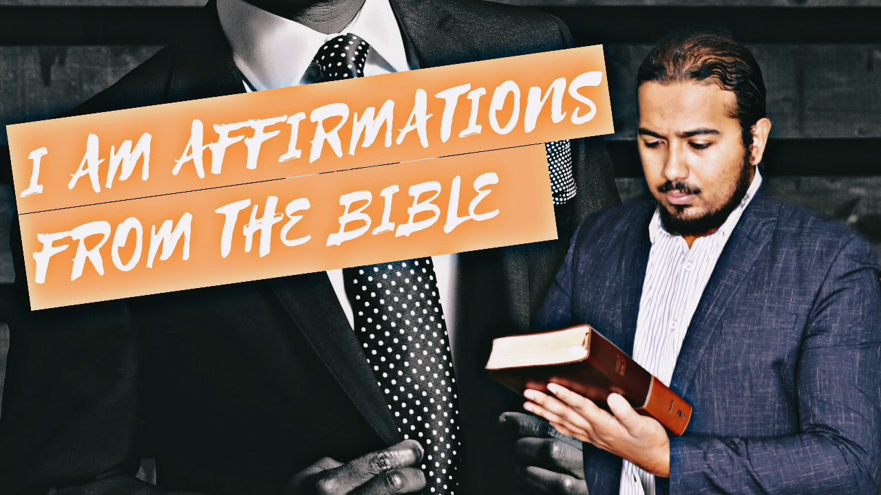 I AM CONFESSIONS / AFFIRMATIONS FROM THE BIBLE, CONFESSIONS OF FAITH - EV. GABRIEL FERNANDES