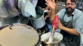 PAKISTANI STREET LASSI | Old Village Style Punjabi Lassi Making | Summer Drink | Karachi Street Food