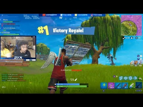 FAST CONSOLE BUILDER - TOP XBOX PLAYER - Dyn Fortnite Stream