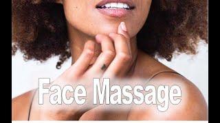 relaxing facial and shoulder massage increase circulation