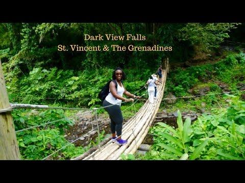 A Quick Glimpse of Dark View Falls, St. Vincent