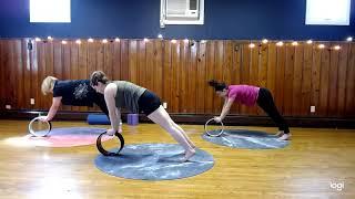 10 Minute Dharma Yoga Wheel Class