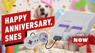 Happy Anniversary, Super Nintendo! - IGN Now