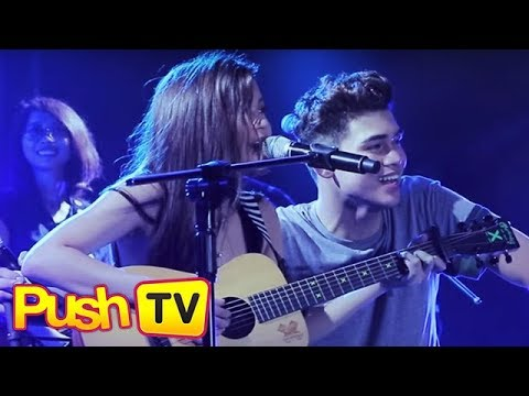 "Push TV: Iñigo Pascual, Maris Racal perform ""Tayo Na, Di Na Tayo"" together"