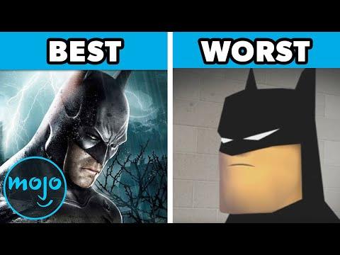 Top 10 Best and Worst Batman Games