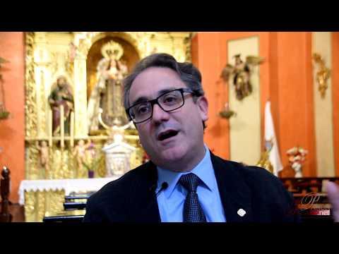 Entrevista al pregonero de la Semana Santa de San Fernando 2018 | Juan José Castiñerias Bustillo