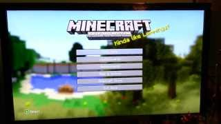 Minecraft Xbox360 Edition *Update PROBLEMS*