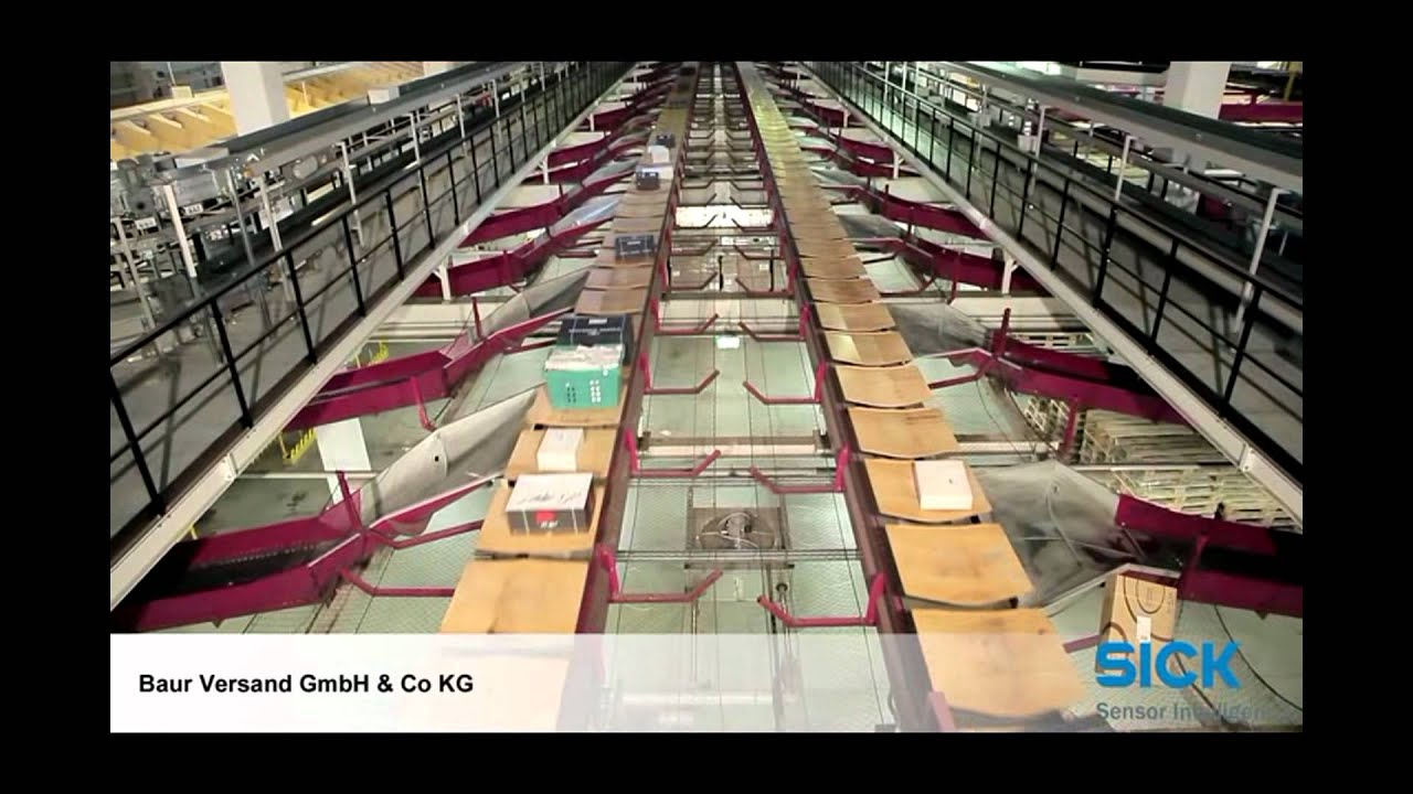 efficient auto id solutions from sick at baur versand sick ag youtube
