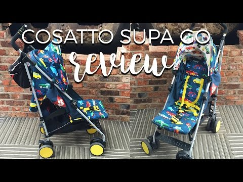 COSATTO SUPA GO REV UP STROLLER REVIEW - This Mama Vlogs