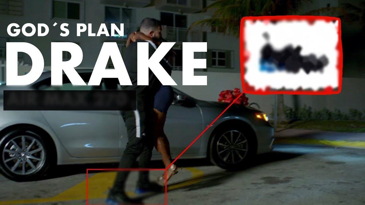 Drake had on God's Plan video