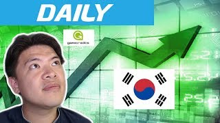 Daily: Bitcoin pushes for $6000 (Again) / GameCredits & Unity / Korea to add regulation?