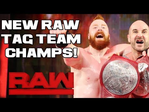 WWE Raw 11/6/17 Full Show Review & Results: NEW RAW TAG TEAM CHAMPIONS! SURVIVOR SERIES TAKES SHAPE!