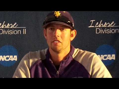 Press conference after Minnesota State downs Franklin Pierce at 2013 NCAA DII Baseball Tourney