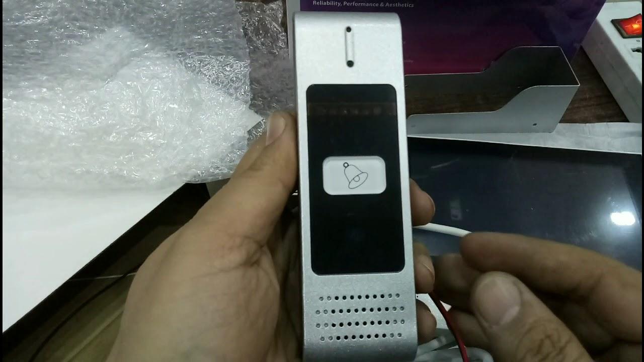 CP Plus CP-JAV-K70 Hands free color video door phone - The