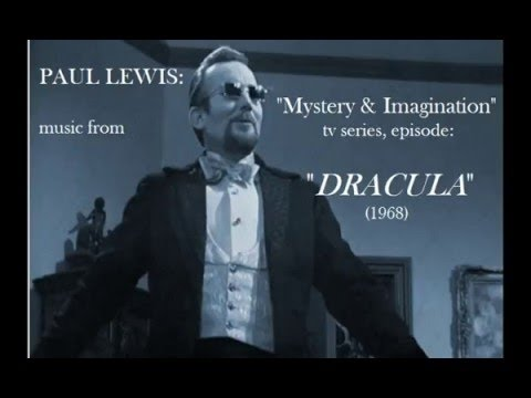 "▶ Misty Brew's Creature Feature- ""Dracula"" (TV movie from 1968) Full Movie (4/10/87) +"