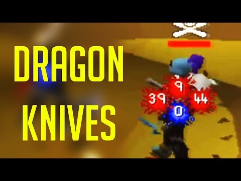 Dragon Knives have literally turned me into a PKing God ​
