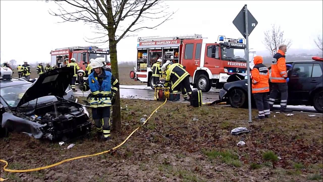 GÄUBOTE Video Verkehrsunfall auf der L 1359 Gäufelden Tailfingen ...