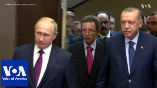 Putin Meets Erdogan in Sochi to Discuss Syria