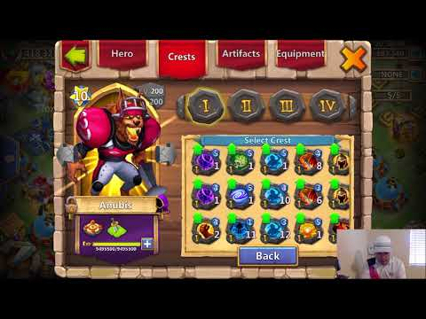 Castle Clash Which TALENT Is BEST For GW OFFENSE ANUBIS