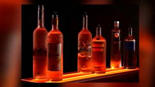 Led Liquor Shelves Display From Armana Productions