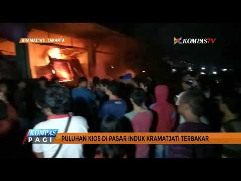 Senin Dini Hari, Pasar Induk Kramat Jati Terbakar Mp3