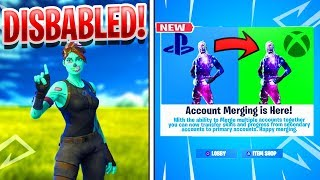EPIC is REMOVING This Feature in Fortnite! Fortnite Account Merging DISABLED!
