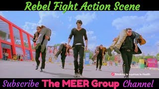 Rebel Best Fight Action Scene in Hindi | Best South indian Movie Fight Scene