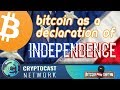 ICO Death?!? Declaration of (Crypto)Currency Independence $ZEN $ELA $MOPRH $ZPT $NEO $XVG