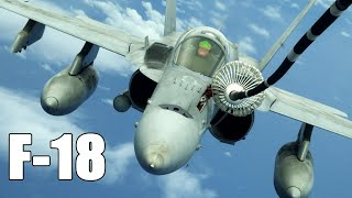 This US Aircraft is Catapulted from 0 to 60 mph in Less Than 1 Second  !-  F-18 Hornet  History